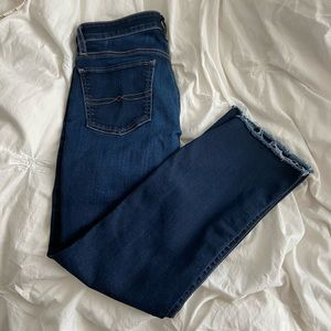 NWOT Lucky Brand Sweet Boot Crop Kick Flare Jeans